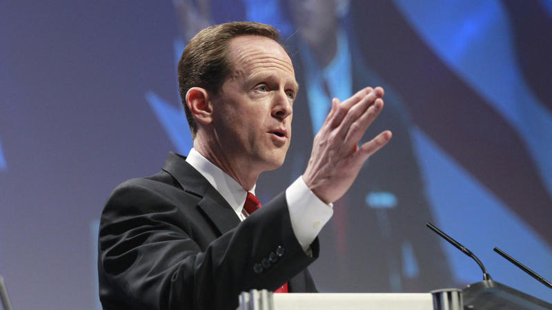 Republican Senator Pat Toomey's offices were reportedly targeted by hackers.