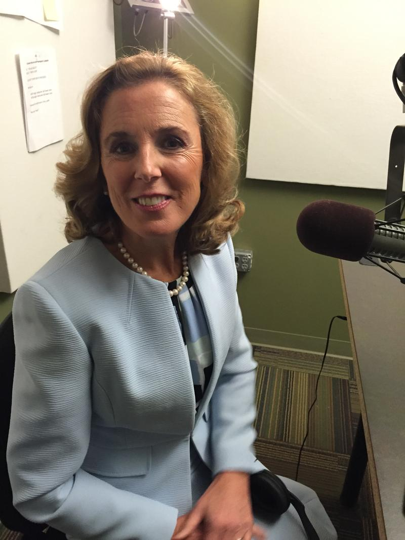 Democratic candidate for Senate Katie McGinty in the Essential Pittsburgh studios.