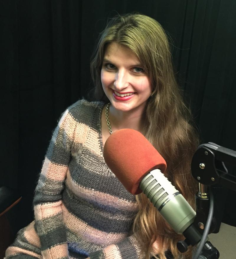 Alicia Kozakiewicz, child welfare advocate and founder of The Alicia Project, in the Essential Pittsburgh studios.