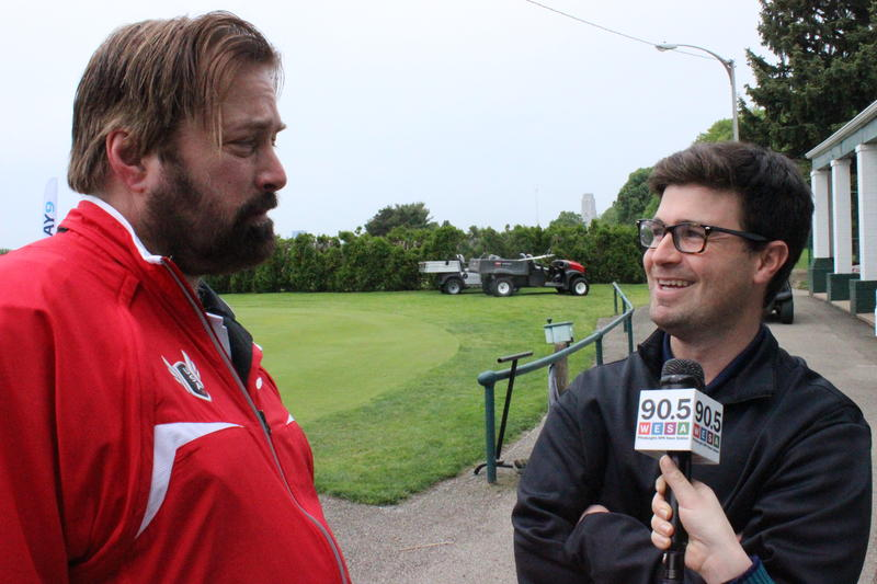90.5 WESA's Paul Guggenheimer speaks with Councilman Corey O'Connor ahead of the Play 9 Golf event.
