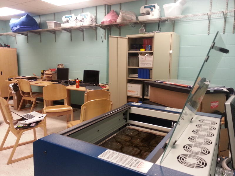 Innovative Classroom Displays ~ Avonworth maker space encourages innovation and