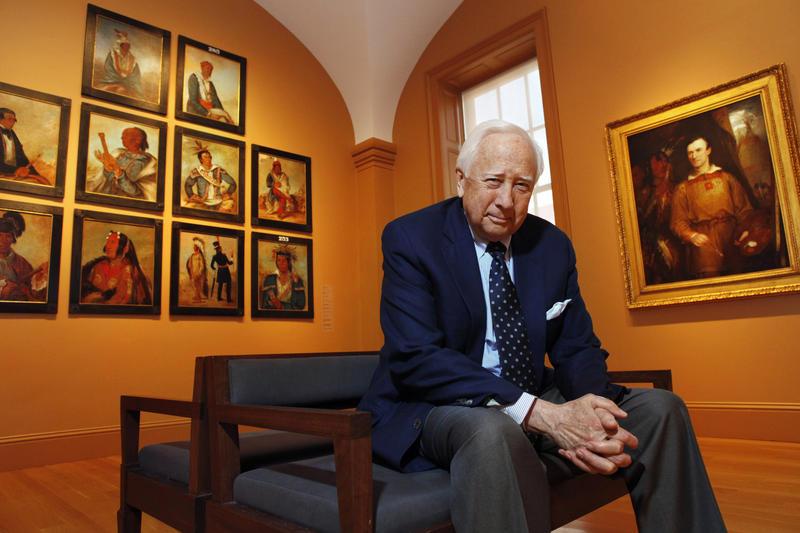 Award-winning author and historian David McCullough.