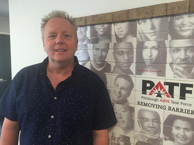 Alan Jones, certified HIV prevention counselor, has been working at the Pittsburgh AIDS Task Force for 25 years.