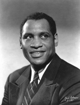Actor Paul Robeson, who stars in the 1925 film 'Body and Soul.' The film will be shown Friday at the Hollywood Theater in Dormont with the hip-hop soundtrack of Pittsburgh artist Jasiri X.