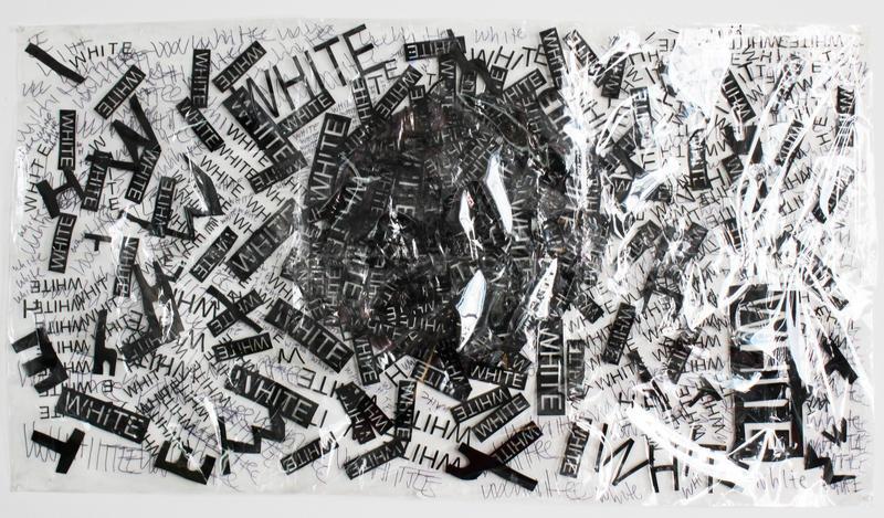 A piece by multimedia artist Hoesy Corona.