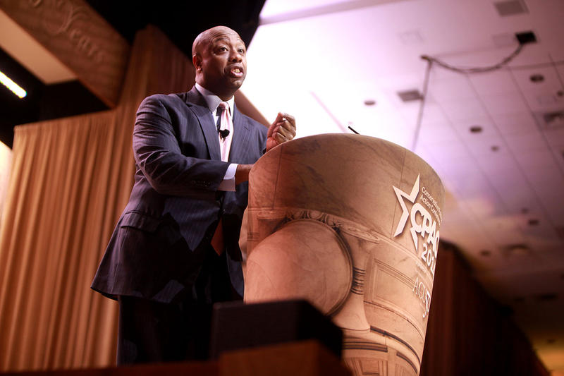 South Carolina Senator Tim Scott (R) speaks out about his experiences with police.