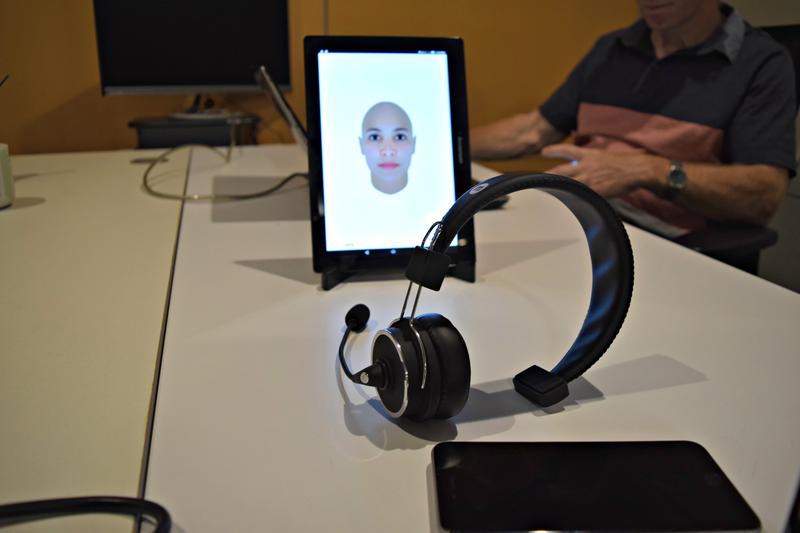 Maven Machines, based in Bloomfield, has created a headset to help prevent truck drivers from falling asleep at the wheel and drifting off the road.