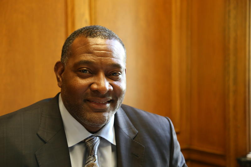 New Pittsburgh Public Schools Superintendent Anthony Hamlet said building effective student support systems will be a critical step in any future PPS success in his Oakland office on Friday, August 19, 2016.