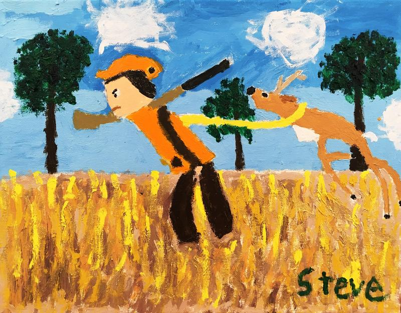 A painting by a CLASS volunteer who prefers to remain anonymous.