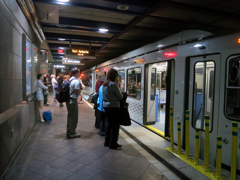 A power issue causes delays on the T red and blue lines on Friday.