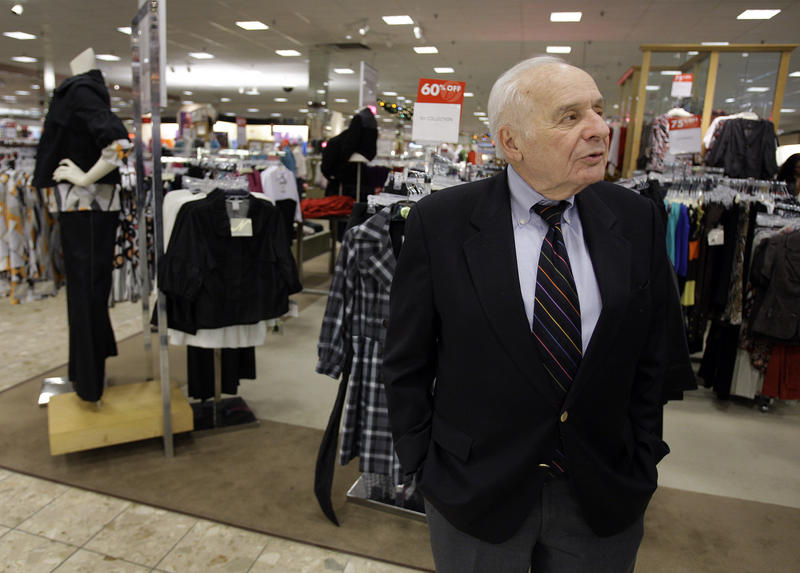 Al Boscov is photographed during an interview at his Boscov's department store in Reading, Pa., Thursday, Dec. 18, 2008.
