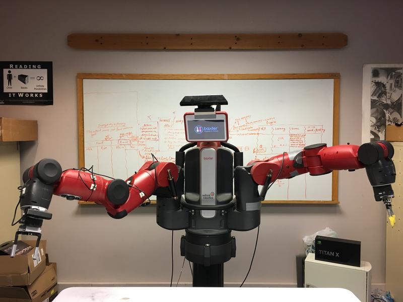 A Baxter robot at CMU.