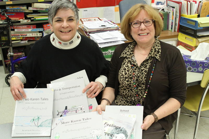 Paula Kelly, Whitehall Public Library Director, and Christman have been compiling the stories for three years.