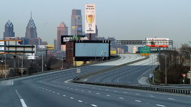 No, this isn't a shot of Philadelphia after the zombie apocalypse: in 2008, a 2-mile stretch of I-95 closed to allow for emergency repairs. An elevated part of the highway was supported by a pillar that had developed a 4-foot crack.