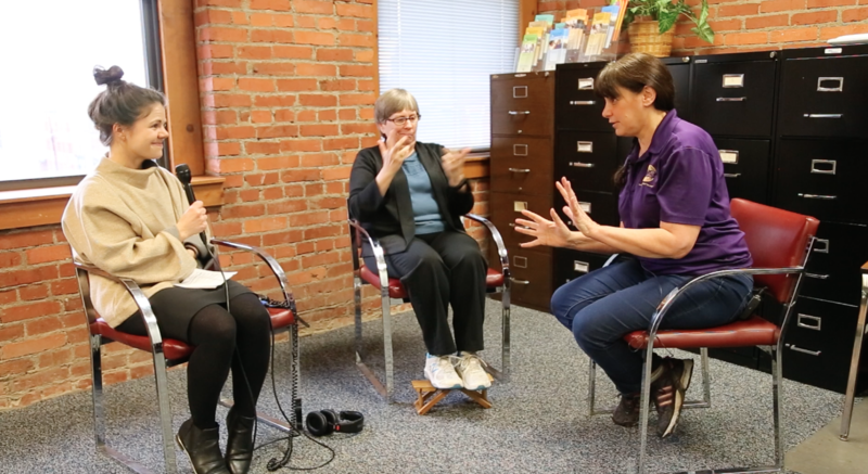 Until recently, Sharon Serbin worked as a life skills counselor at the Center for Hearing & Deaf Services. She talked about her life and work with 90.5 WESA's Margaret J. Krauss. Maggie Brady interpreted.