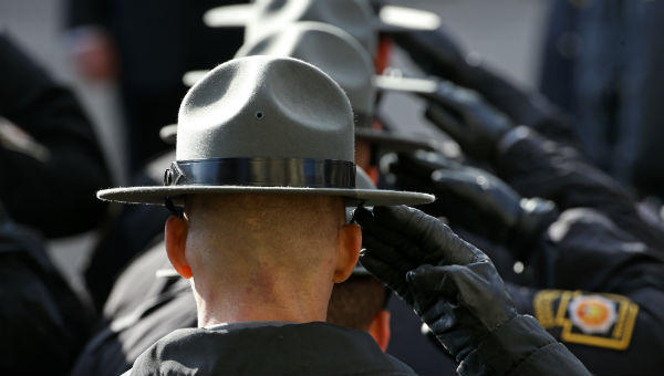 Gov. Tom Wolf proposed a $25 per-person fee to residents in municipalities that benefit from full-time state police protection rather than sustaining their own local police forces.