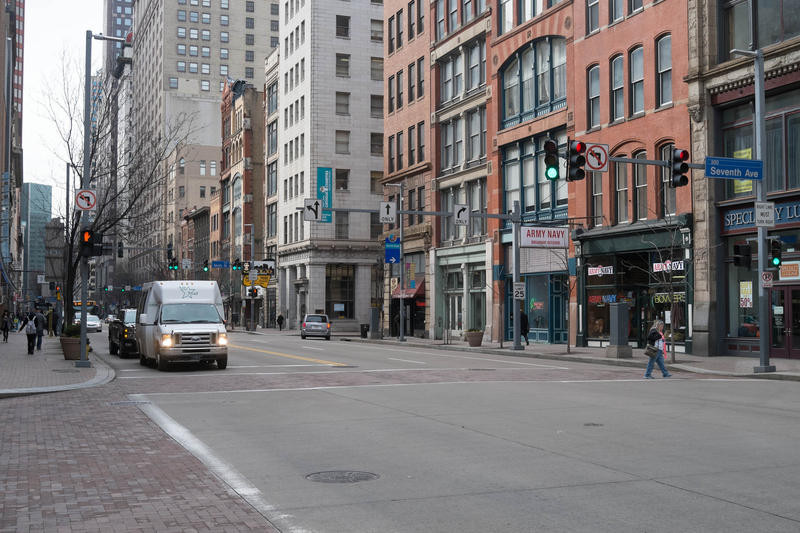 A new Pop-Up is seeking input from locals on how they use Liberty Avenue Downtown.