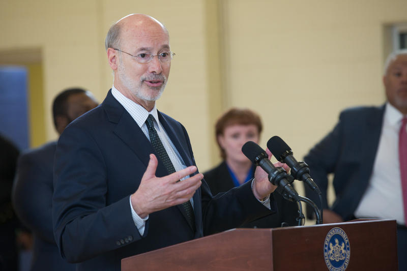 Gov. Tom Wolf says any gambling expansion must bring in new revenue to the state.