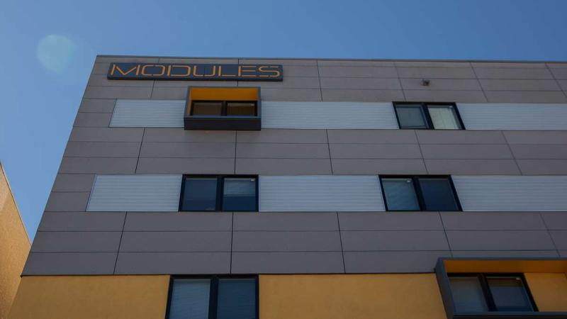 The Modules at TempleTown are apartments geared toward Temple students in North Philadelphia.