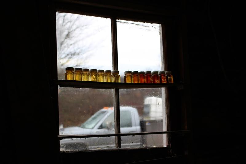 At Nathan Goodell's farm in northeastern Ohio, March is usually prime season for boiling maple sap into syrup. But with above-average winter temperatures, he's already wrapping up work at the sugar shack.