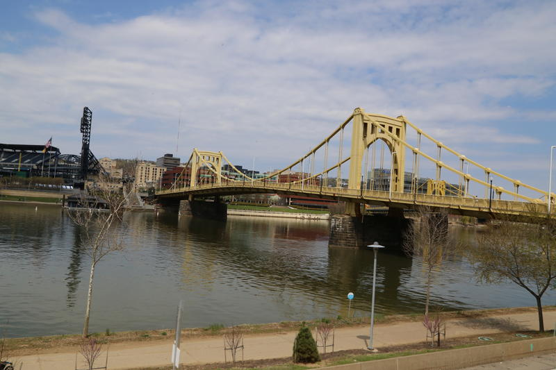 The Allegheny River, as seen from downtown Pittsburgh. Clarion University Aquatic Ecologist Andrew Turner says if rivers were named by volume of their largest tributary, the Mississippi River could technically be called the Allegheny River.