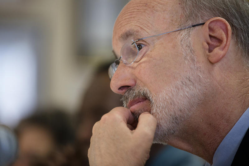 Gov. Tom Wolf has until Thursday to approve a redrawn map of the state's congressional districts submitted by Republican leaders Friday, according to a January court order.