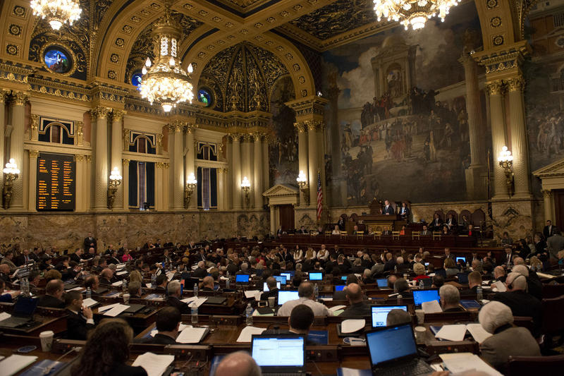 State legislators are attempting to fix the state's $70 billion unfunded pension liability.