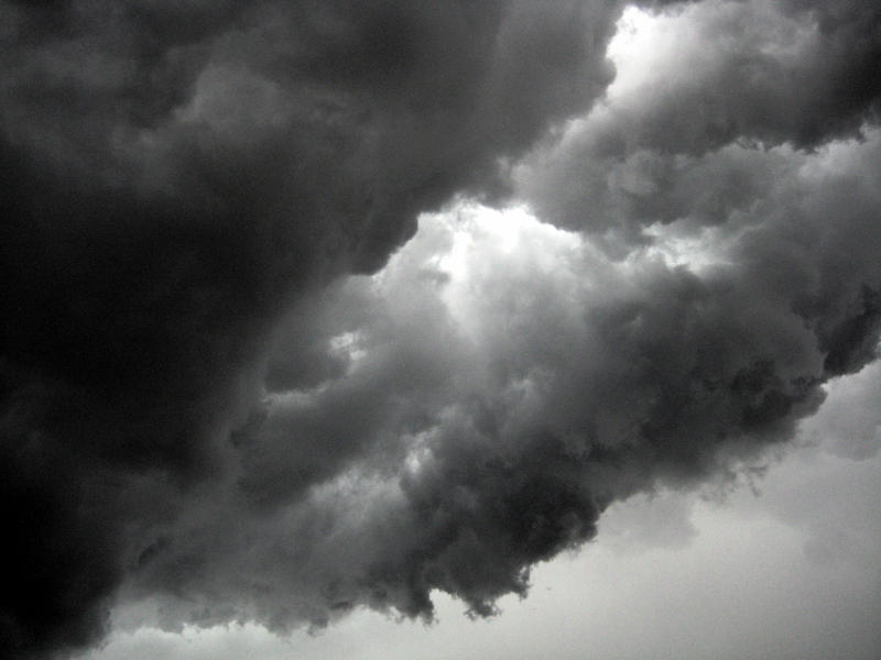 The National Weather Service says tornados, hail and strong winds are possible.