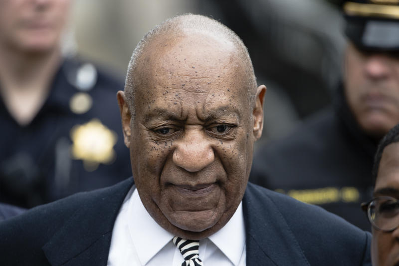 Bill Cosby departs after a pretrial hearing in his sexual assault case at the Montgomery County Courthouse in Norristown, Pa., Monday, April 3, 2017.