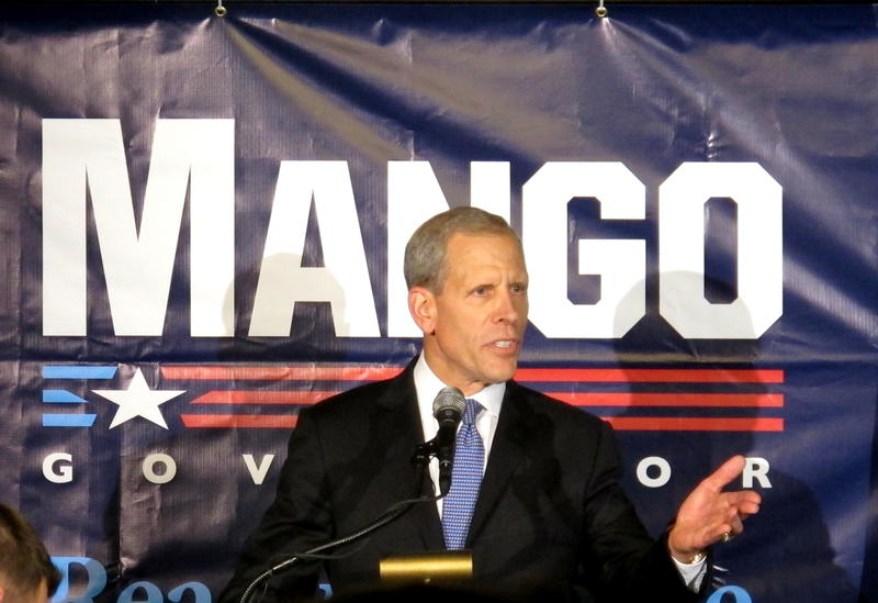 Republican Gubernatorial Candidate Paul Mango launched his campaign Wednesday, May 17, 2017 at an event in Soldiers and Sailors Hall.