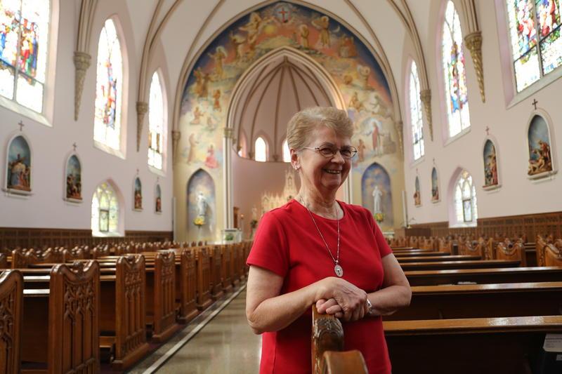 Sister Lorraine Wesolowski is congregational historian for the Sisters of St. Francis of the Neumann Communities. The sisters' Millvale home, Mount Alvernia, has been put up for sale.