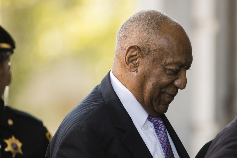 Bill Cosby arrives for his sexual assault trial at the Montgomery County Courthouse in Norristown, Pa., June 9, 2017.