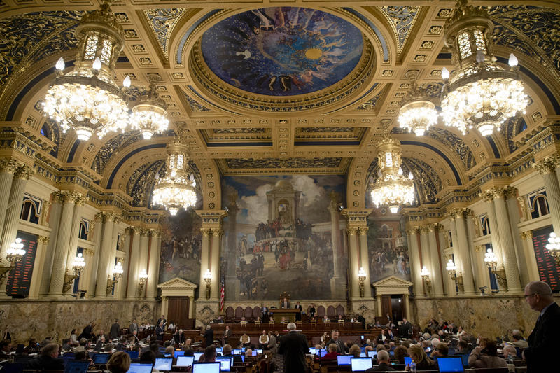 State lawmakers will meet this weekend to continue to find a way to balance the state's $32 million budget.