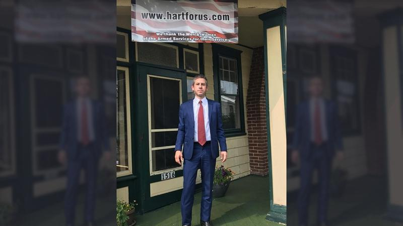 Kris Hart says he won't run for governor in Pennsylvania, but will consider other options -- including a U.S. Senate campaign.