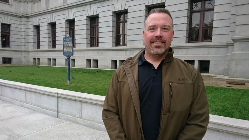 Schuylkill County homeowner Ron Boltz has become a crusader in the fight to eliminate Pennsylvania school property taxes.