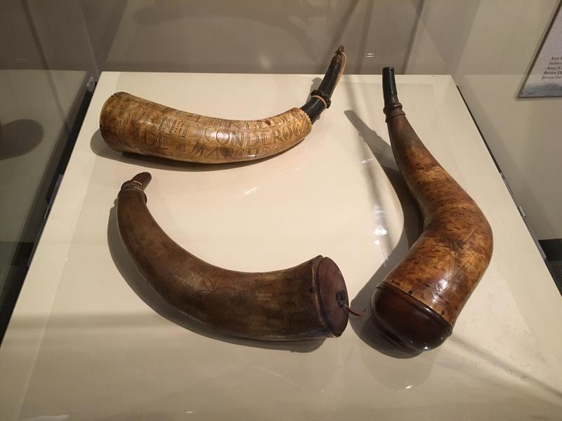 Horns were made from bison, buffalo or cow and were useful because they were lightweight and water resistant.