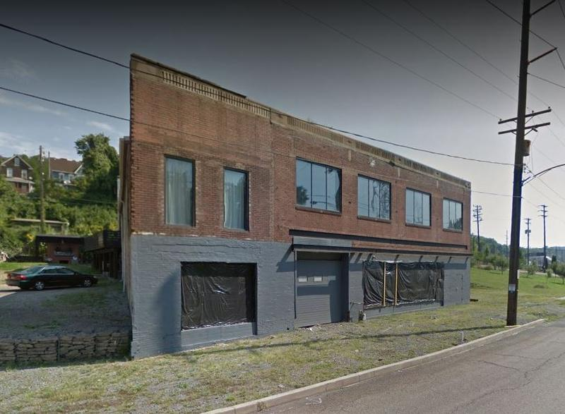 The new home of Braddock's latest restaurant Superior Motors stands in disrepair on Braddock Avenue. The space takes its name from the building's former life as a mechanic's garage.