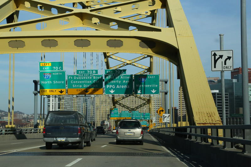 The Fort Pitt Tunnel is one of the loudest places in the Pittsburgh region.