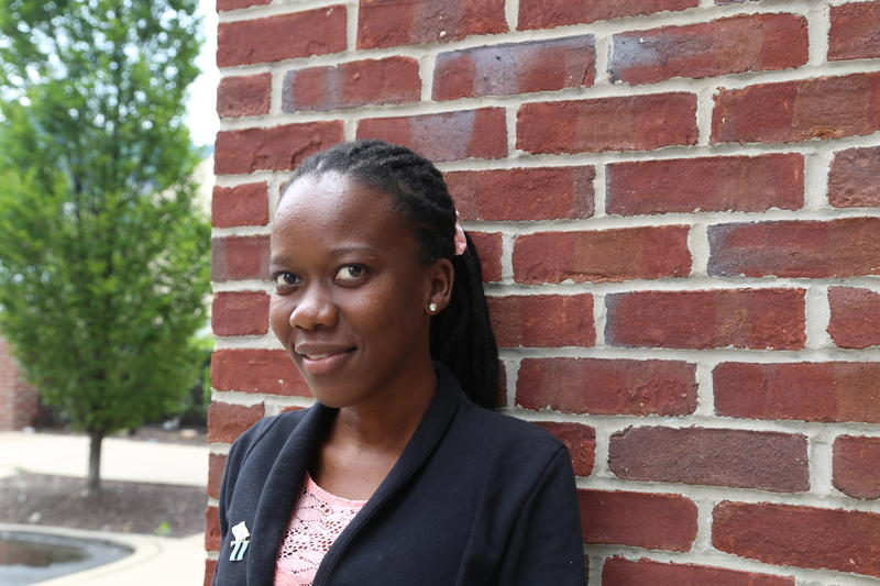 22-year-old Masedi Thata Kesamodimo is visiting Pittsburgh on a six week fellowship.
