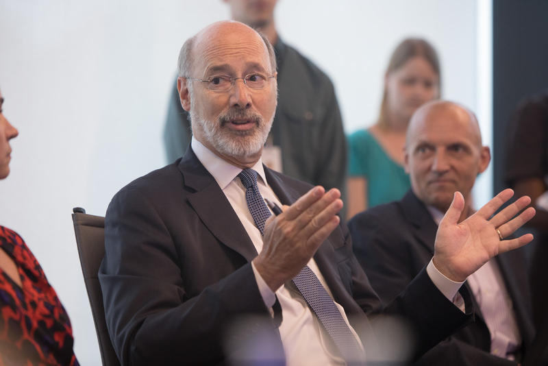Gov. Tom Wolf joined a group of bipartisan governors against the Republican repeal and replacement bill.