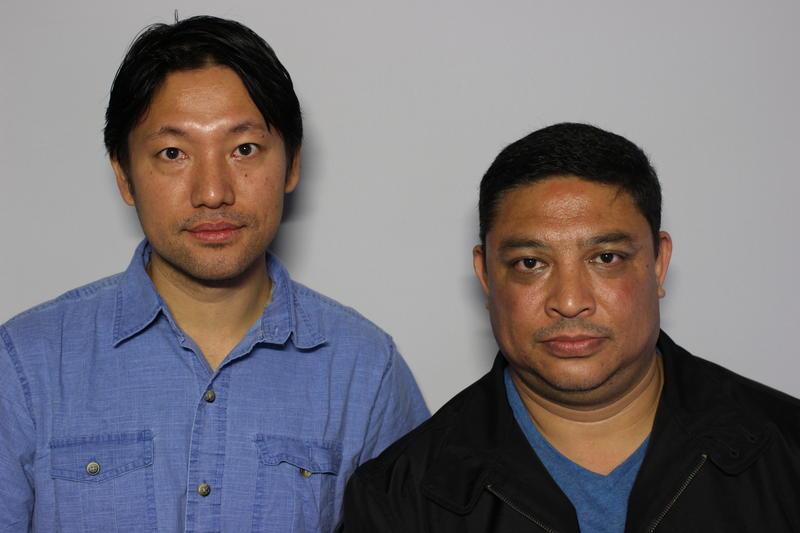 Ashok Gurung and Kishor Pradhan