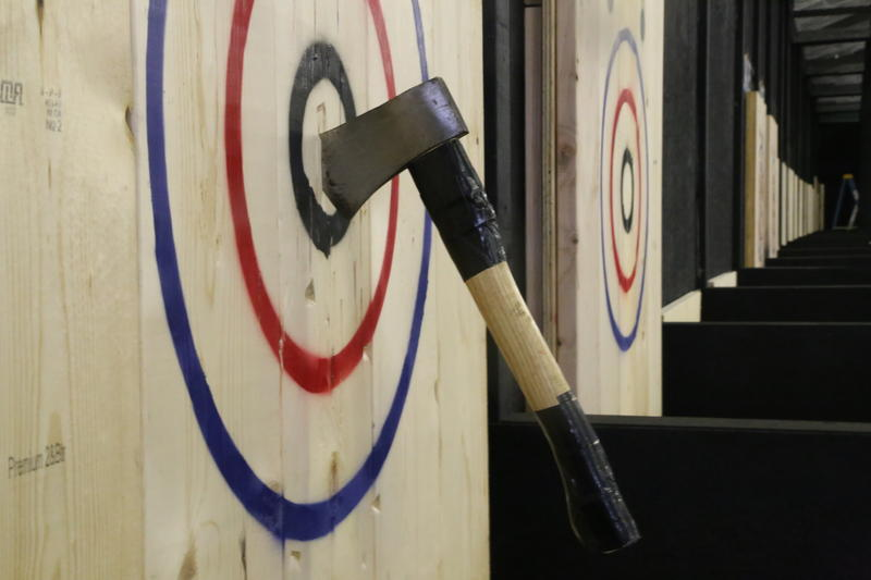 Lumberjaxes, a competitive axe-throwing venue, is set to open in Millvale mid-August.