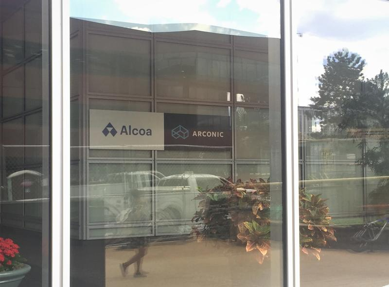 The headquarters of Alcoa, which it shares with aluminum manufacturer Arconic, on Pittsburgh's North Shore.