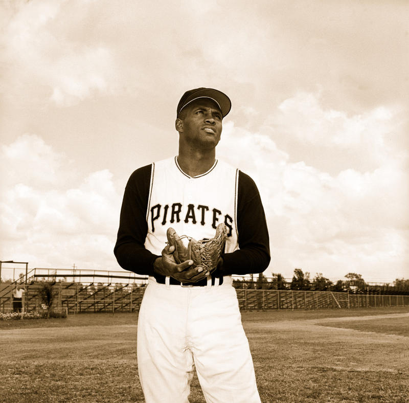 Roberto Clemente's jersey number is retired in Pittsburgh, effort would retire it throughout MLB.