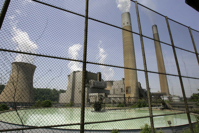 This May 22, 2007 file photo shows FirstEnergy's Bruce Mansfield  plant in Shippingport, Pa.