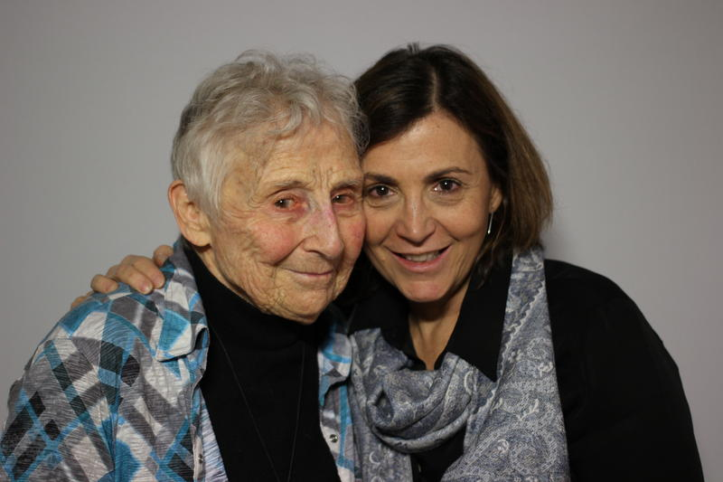 Margit and Ilana Diamond