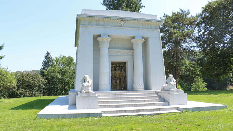 The Winter Mausoleum, located in Pittsburgh's Allegheny Cemetery.