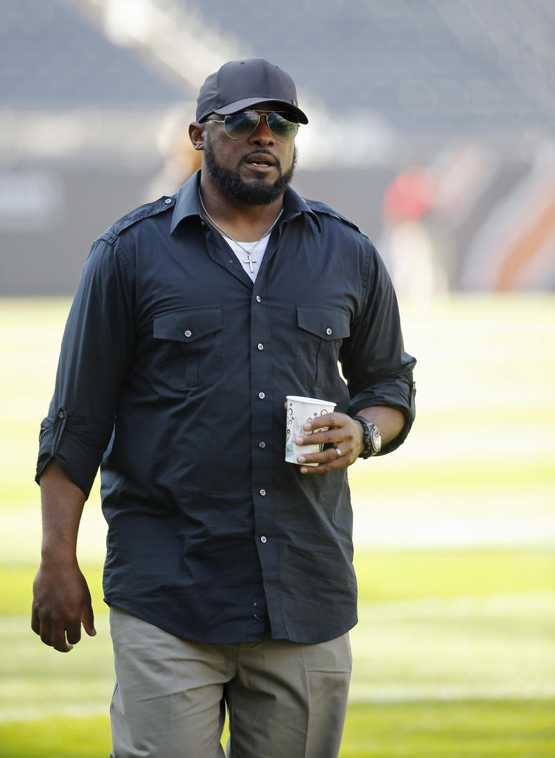 Pittsburgh Steelers coach Mike Tomlin.