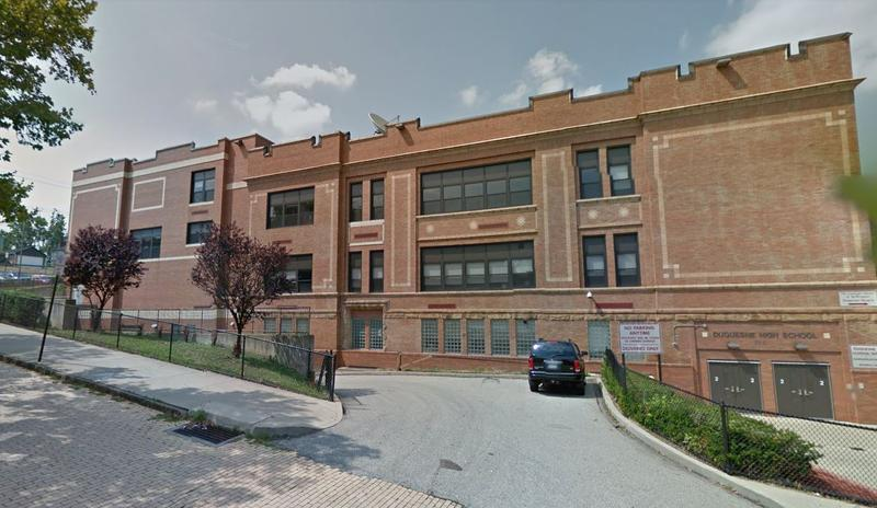 Duquesne High School closed in 2007 per state order because of low standardized test scores. Students now either attend West Mifflin or East Allegheny School Districts. Duquesne is one of four Pennsylvania school districts without a high school.