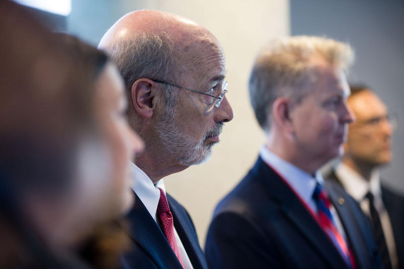 Gov. Tom Wolf says he'll make a decision on spending freezes on Sept. 15.
